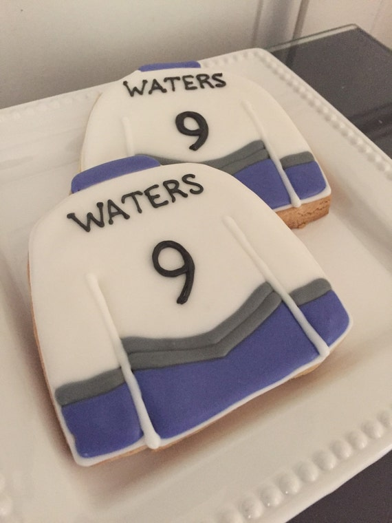 Hockey Jersey Cookies
