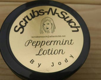 Peppermint Lotion