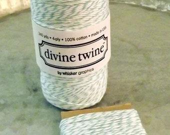Cotton string Teal Divine Twine 10 Yards