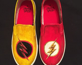 The Flash / Reverse Flash Shoes