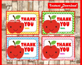 Teacher Appreciation Gift Tag instant download , Printable Teacher Appreciation cards, Teacher Appreciation Thank you tags
