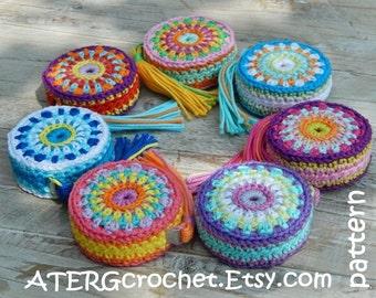 Crochet pattern Tape measure cover by ATERGcrochet