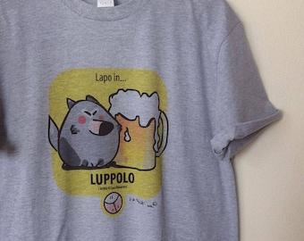 """T-Shirt Grey man """"hops"""" de ' I Roofi ® '"""