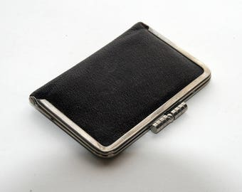 Leather Card Case from the 1940's - 50's