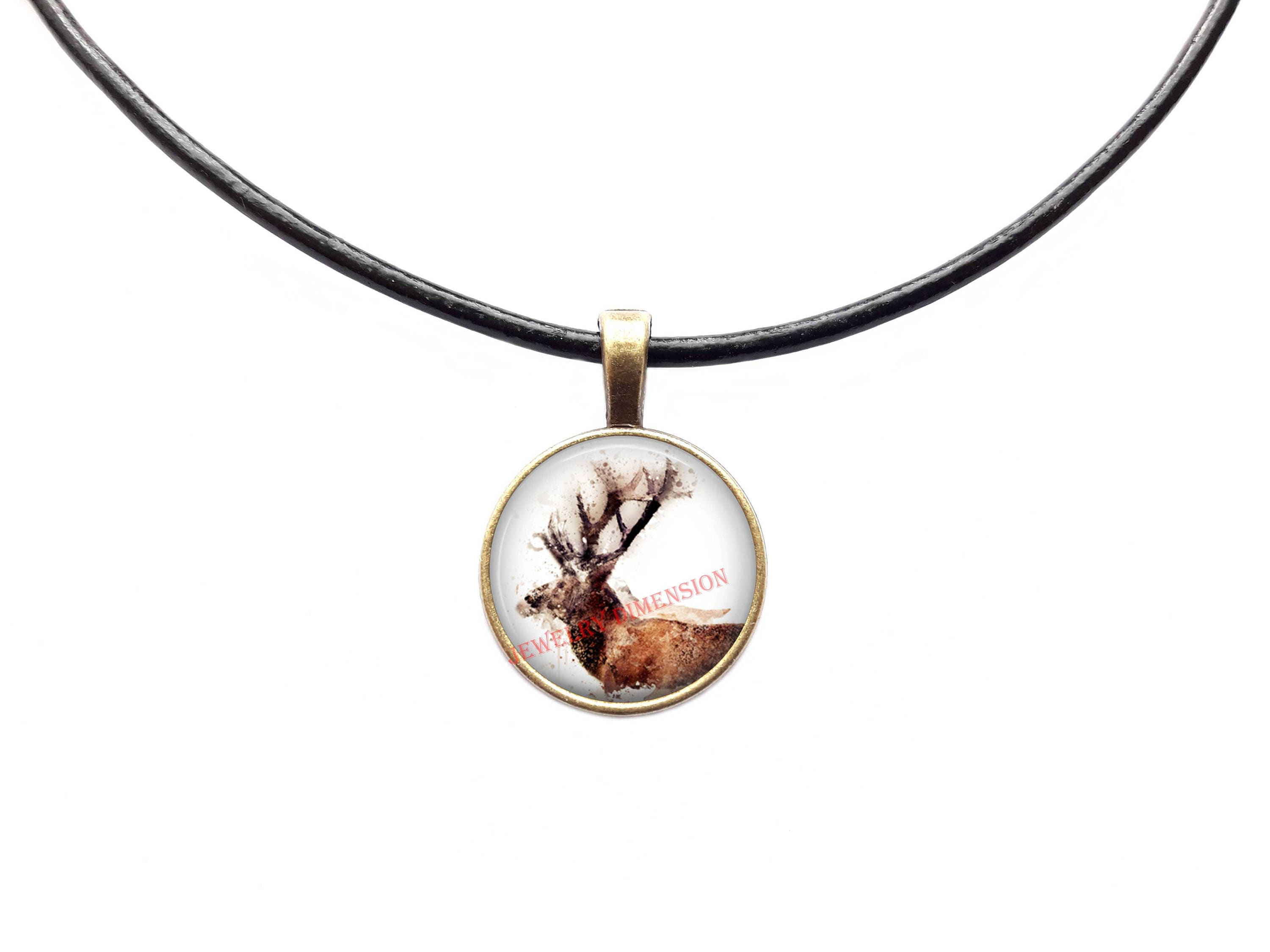 deer pendant cast product designs horn whitetail antler