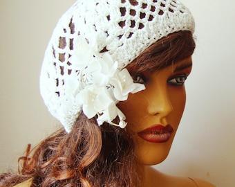 Bride White Hat, Bride Hat, Lace Wedding Hat, White Formal Hat, Wedding Hat, Bridal Hat, Fascinator, Lace Hat, Formal Hat