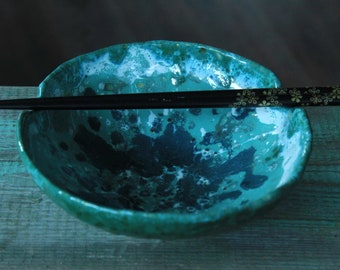 ceramic soup bowl japanese style bowl noodle bowl ramen bowl chopstick bowl ceramic rice bowl asian bowl with chopstick rest thai food bowl