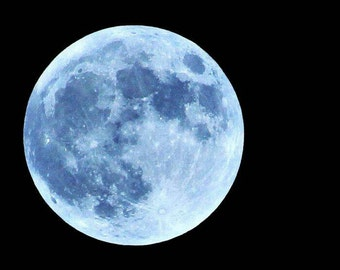 Full Moon Print, Moon Photography, Moon Photo, Full Moon Picture, Purple Moon Photo, Dreamy Moon Prints, Moon Decor, Purple Moon, Moon Print