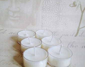 luxury scented soy tealights
