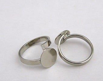 10 blank ring tray 8 mm.