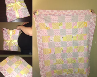 Custome baby crib size quilts