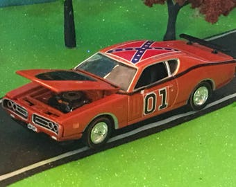 Dukes Of Hazzard, General Lee, 1971 Dodge Charger, 1/64 Scale Die-cast, #6055
