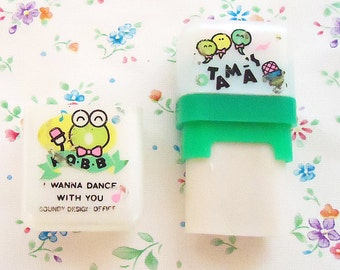 Three Cute 80s Erasers.One is Soundy