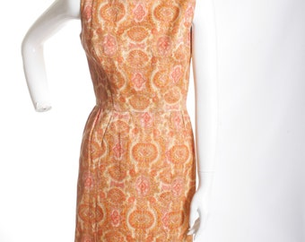 Youth Guild Wiggle Perfect Dress 1940s Vintage