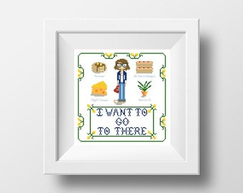 PDF - Liz Lemon Square Cross Stitch Pattern
