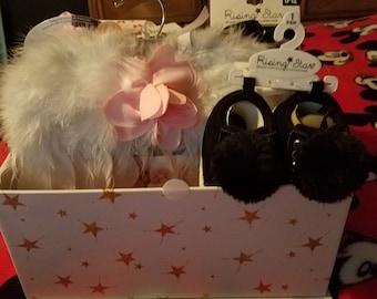 Adorable girl baby shower gift