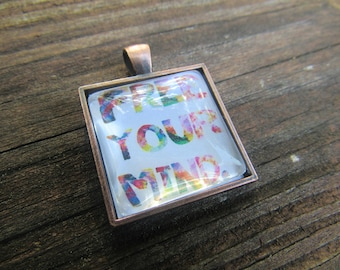 Free your mind boho necklace