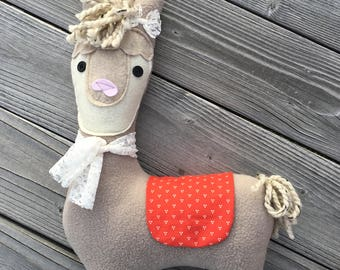 LLAMA Stuffed Animal Toy Pillow