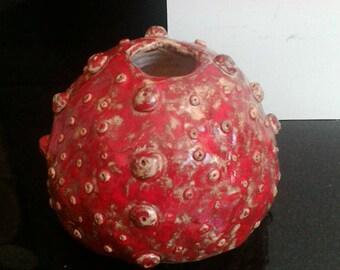 unique clay pot