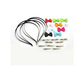 Kit DIY creative hair accessories