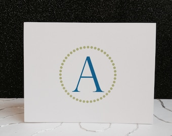 personalized thank you note cards set of 20