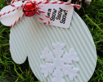 Christmas Mittens, Gift Tags, Christmas Gift Tags, Mittens, Holiday Tags