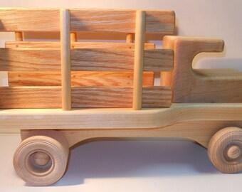 Wooden Stake Truck, Farm Truck, Flatbed Truck