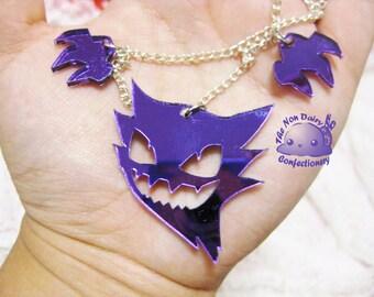 Haunter Mirror Acrylic Necklace