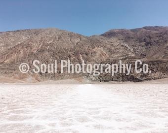 Badwater Basin, Death Valley, California