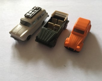Wiking, Herpa and other make small plastic car lot