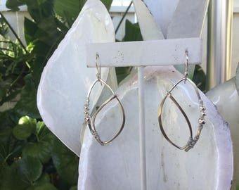 Wire Wrapped Sterling Dangles
