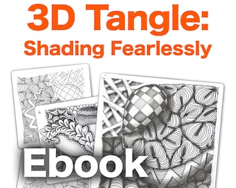 3D Tangle Shading Fearlessly - Download PDF Tutorial Ebook