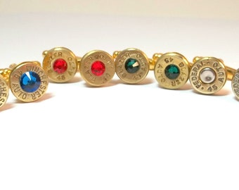 Bullet Jewelry- 45 Caliber Bullet Cuff Links