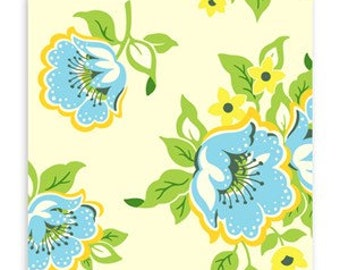 SALE Heather Bailey Nicey Jane Roses Fabric Canada/ half yard