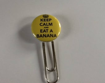 Very pretty paperclip jeep calm and eat a banana bookmark