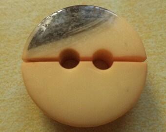8 buttons ochre dark grey 23mm (3293) button