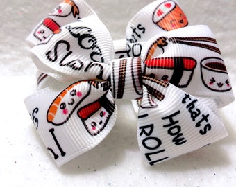 Girly Sushi Lover Bow Set