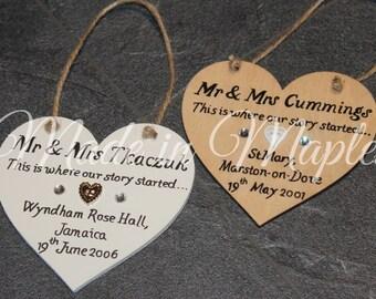 Wooden Wedding / Anniversary Gift