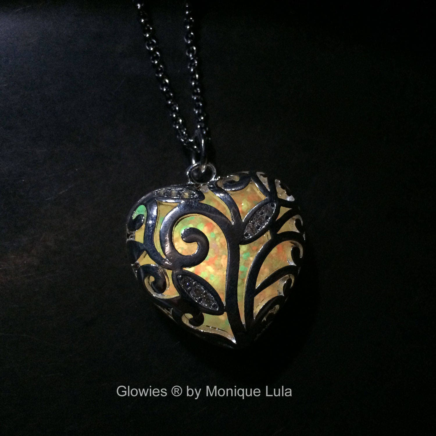 products com stock glow product moon necklace gaia image
