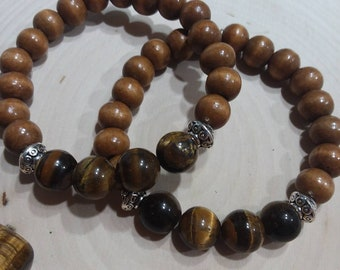 Healing Crystal bracelet- Tiger's Eye