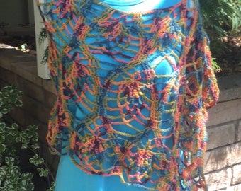 Crochet Wrap Pancho