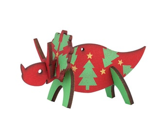 Triceratops Christmas Ornament (Dinosaurnament®)