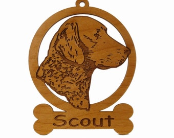 Chessie Ornament 082095 Personalized With Your Dog's Name
