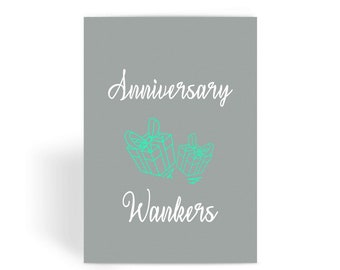 Cactus card anniversary card cacti card rude anniversary