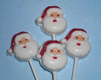 10 Pc. Santa Pops