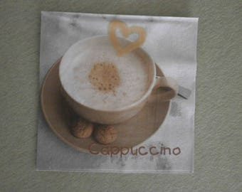 cappuccino Cup paper napkins