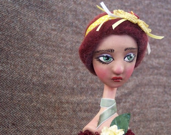 Painted Lady Candlestick Doll: Tansy