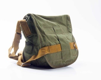Soviet. RARE. Soviet army bag. Gas mask bag.