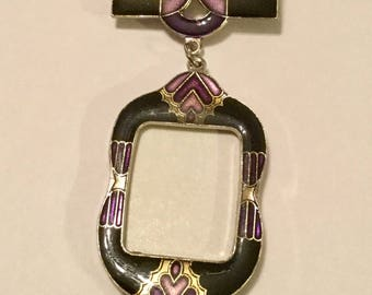 Art Deco Pin Photo Holder