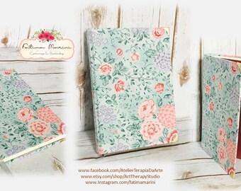 Lined Journal, Writing Journal, Sketchbook, Hardcover Journal, Large Journal, Cloth Journal, Hardcover Notebook, Memory Book,